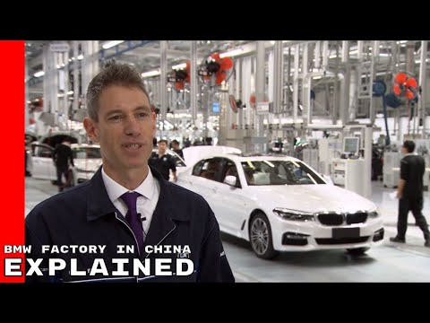 BMW Brilliance Factory In China Explained
