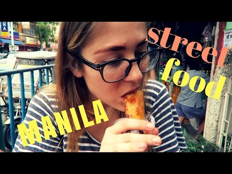 EATING STREET FOOD IN MANILA | PHILIPPINES