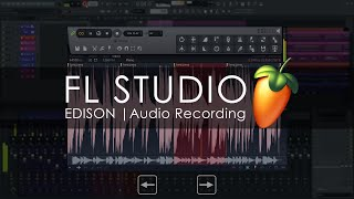 Edison | AUDIO Recording introduction