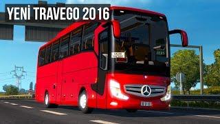 Euro Truck Simulator 2 Yeni Travego 2016 Otobüs Modu