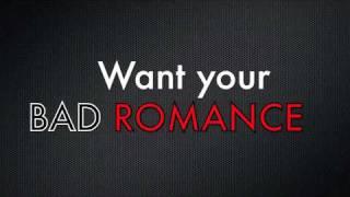 BAD ROMANCE (Instrumental Rock Cover)