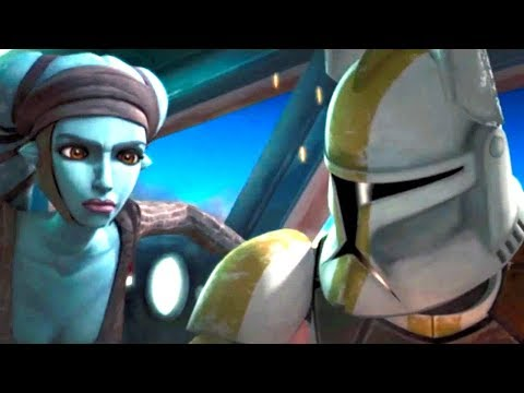 Commander Bly is annoyed with Aayla Secura