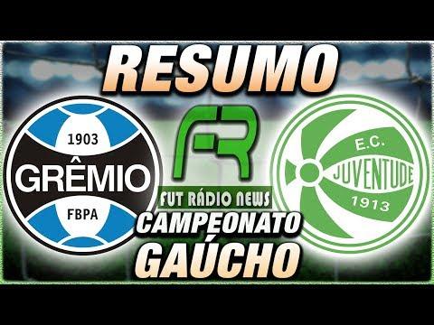 Grêmio 3 x 0 Juventude Campeonato Gaúcho