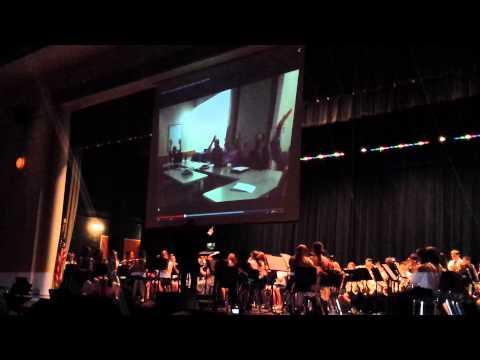 Pennridge North middle school performing ROAR!