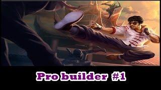 Pro Builder #1 - Lee sin - League of legends