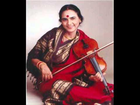 Dr. N.Rajam violin in sahaja yoga 1998 - 03 - 25