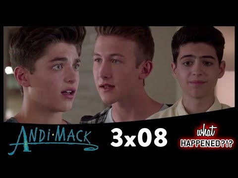 ANDI MACK 3x08 Recap: Jonah & TJ's Fight & Andi's First HS Party - 3x09 Promo | What Happened?!