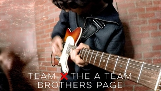 team x the a team brothers page mashup lorde ed sheeran cover