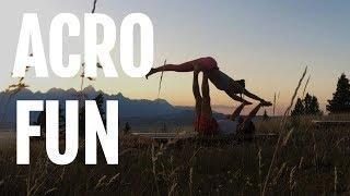 Acro Fun with YogaToday and Simon Park