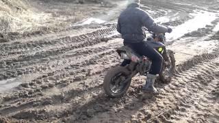 irbis ttr125 по грязи