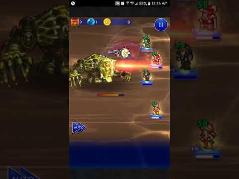 FFRK [Torment Dungeon] Instrument of Destruction, Part 2 (D250) | Barthandelus (FF13)