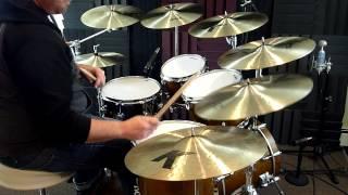 "Zildjian K Custom Dark & K Dark Thin Crashes - 16"", 17"", and 18"""