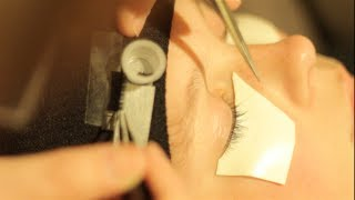 FASTER eyelash extension application - better set up!