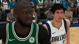NBA 2K19 Tacko Fall My Career Ep. 2 - Facing Boban