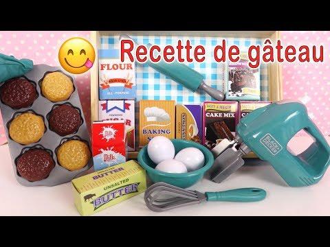 Jeu D'Imitation Cuisine Recette De Gâteau Facile Ustensiles Ingrédients