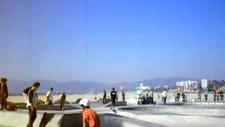 Skateboard Park Venice Beach Boardwalk Ca Day after Thanksgiving 2011 were you there?