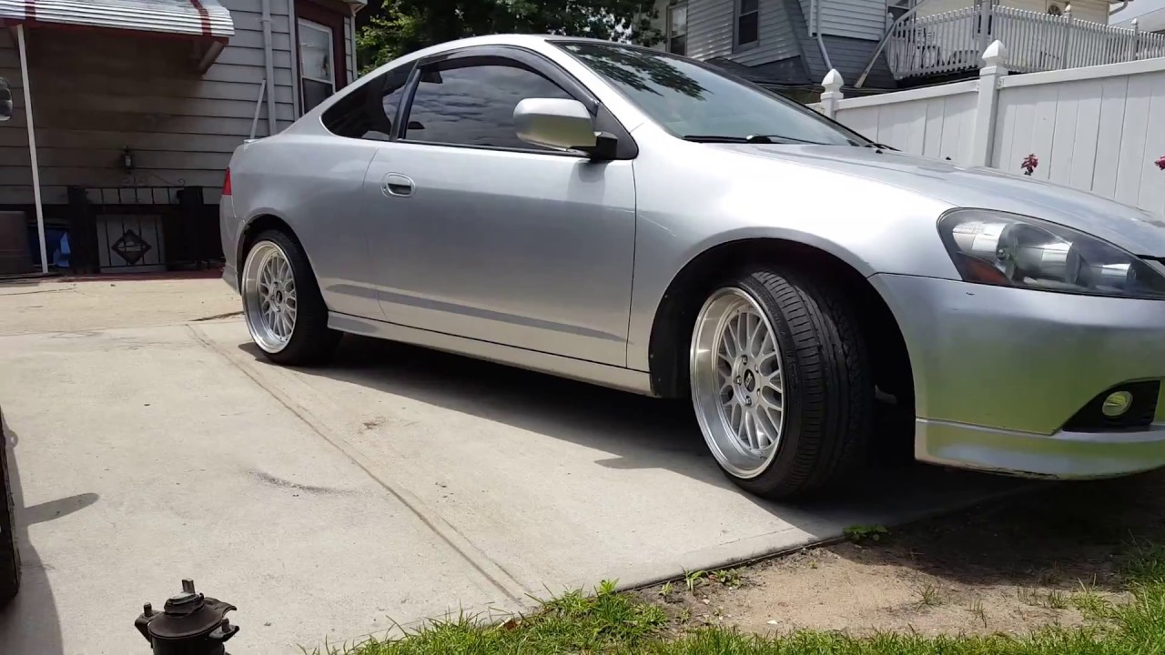 SIMPLY CLEAN ACURA RSX WITH BBS RIMS YouTube - Acura rsx rims