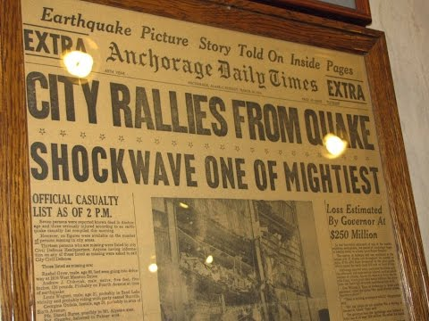 Alaska Radio Youtube - Audio of Amateur Radio Operators assisting in Alaska Earthquake of 1964