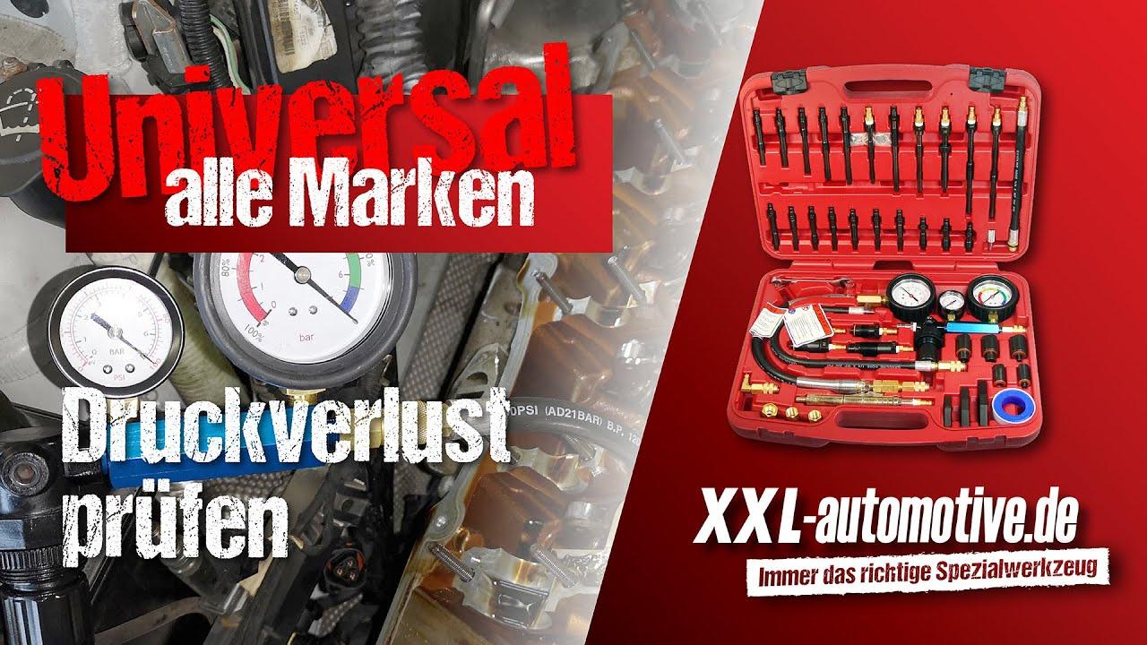 Motor Druckverlust Tester Undicht Motordruck testen Werkzeug Gerät Zylinder