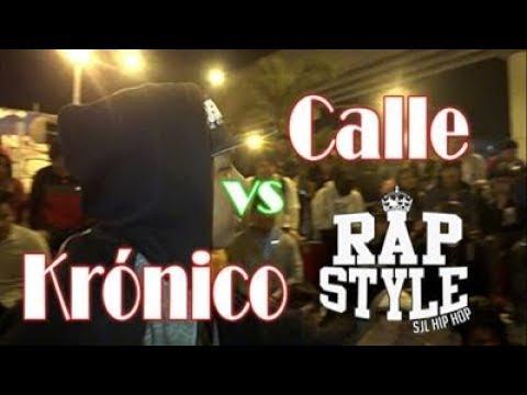 CALLE vs KRÓNICO - RAPSTYLE Audición