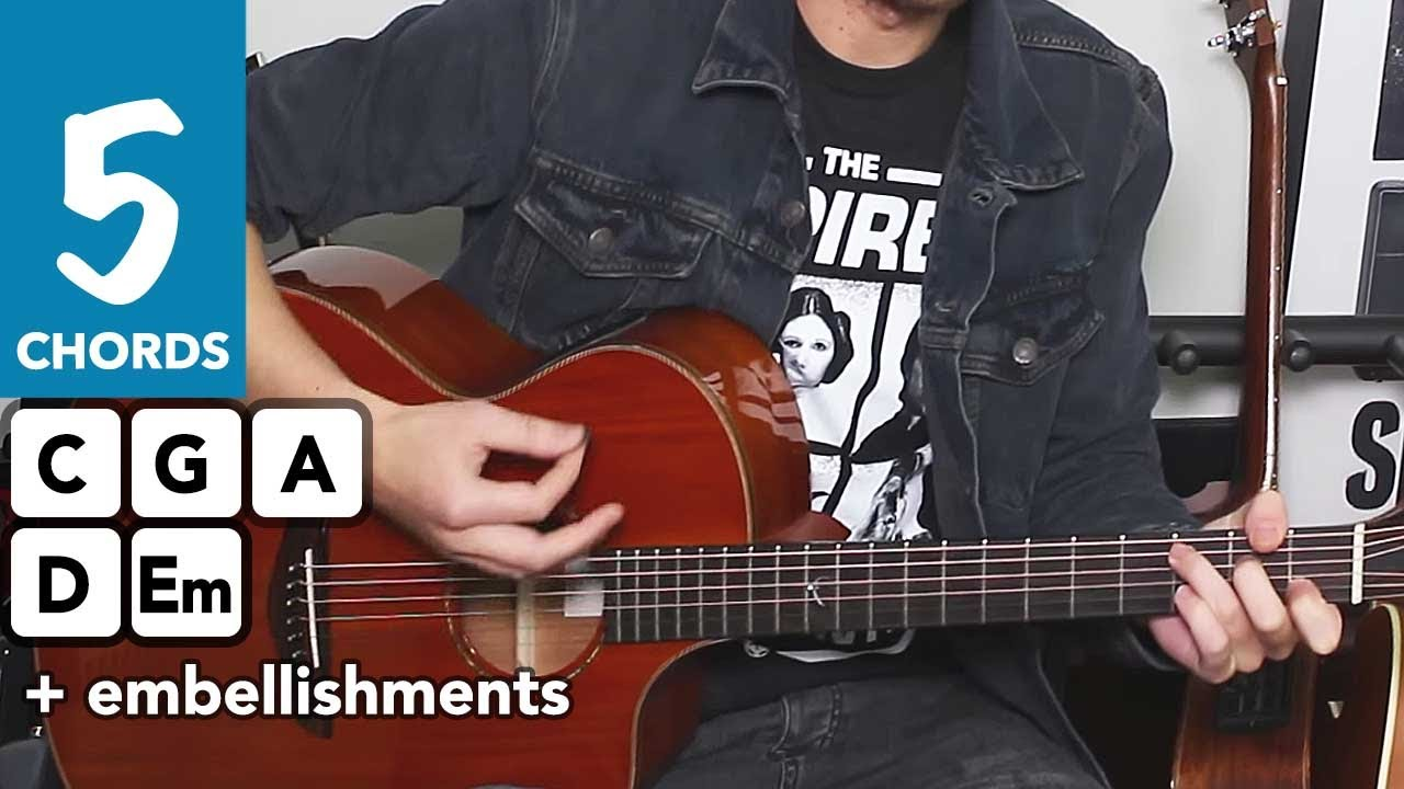 how to play patience on guitar easy