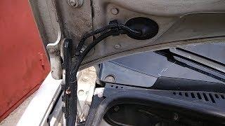 Ремонт трубки омивача своїми руками VW Caddy