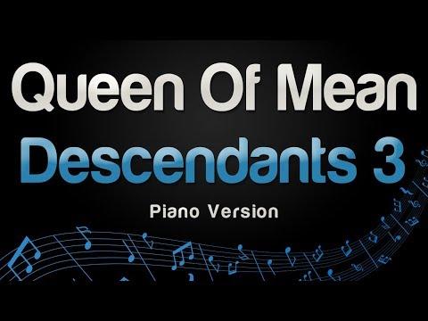 Descendants 3 - Queen Of Mean Piano