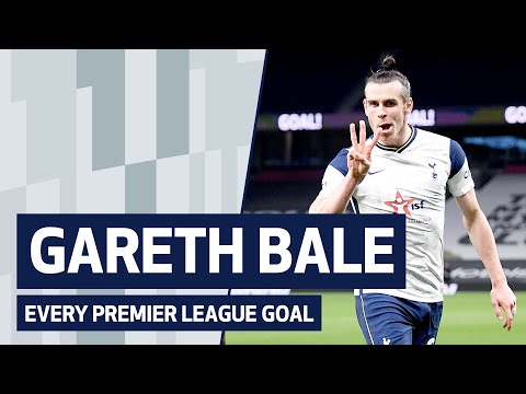 ALL OF GARETH BALE'S PREMIER LEAGUE GOALS