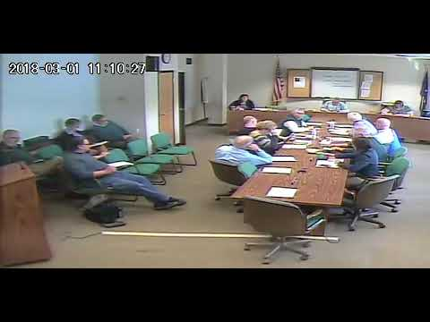 Personnel & Higher Education Committee - March 1, 2018