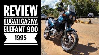Review Ducati Cagiva Elefant 900 1995