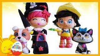 Histoire avec Mary Poppins et Pinocchio - Jouet Pinypon - Touni Toys - Titounis