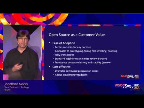 WSO2Con USA 2015 : The Impacts of Open Source