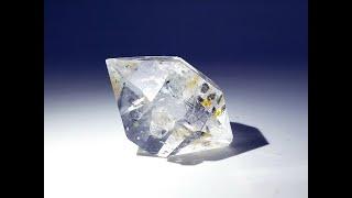 Quartz var. Herkimer Diamond from Herkimer County, New York, USA