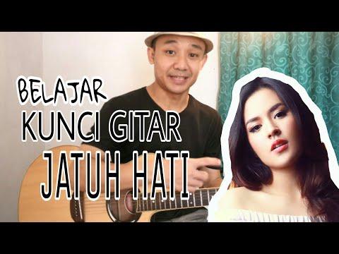 Belajar Kunci Gitar JATUH HATI ( RAISA ) - VWgitar
