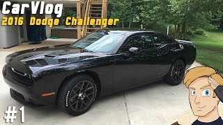 2016 dodge challenger 01 car vlog   first thoughts   cpt ashes