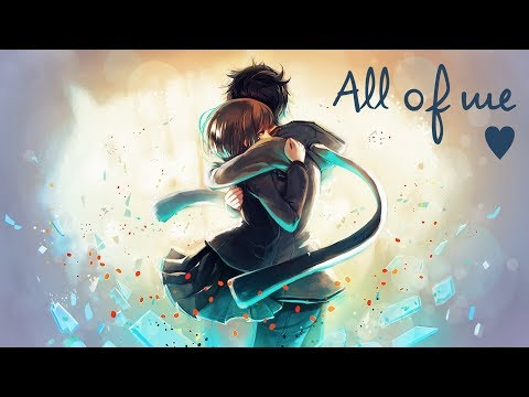 Nightcore - All Of Me (Rock cover)