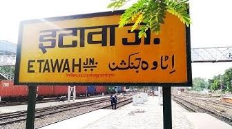 Railfanning At Etawah || 16 in 1 || Rajdhani Express || Humsafar Express || Shatabdi Express