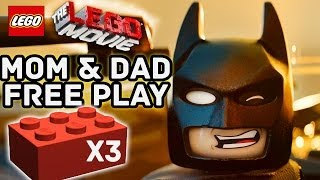Mom & Dad Play Lego Movie Free Play (fail) + 3 Red Bricks & A Pair Of Pants (flatbush Gulch)