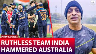 Team India Just HAMMERED Team Australia | INDvsAUS T20i | Shoaib Akhtar | SP1N