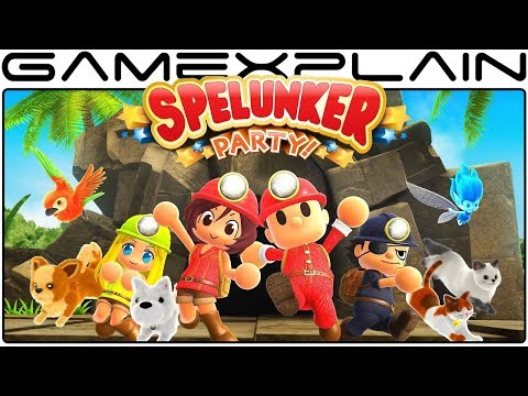 Spelunker Party - Game & Watch (Nintendo Switch)