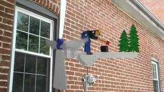 Wood-splitting Whirligig