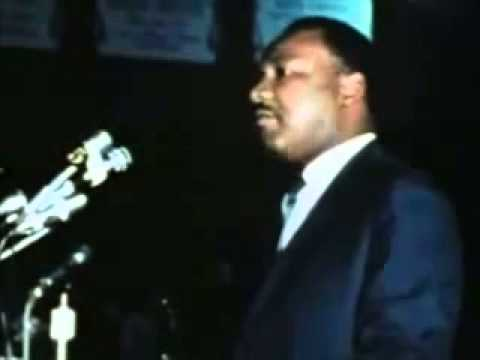 Martin Luther King - speech to Memphis sanitation workers