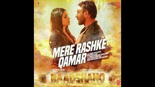 Mere Rashke Qamar Tu Ne Pehli Nazar karaoke with lyrics baadshaho ajay devgan rahat fateh ali khan