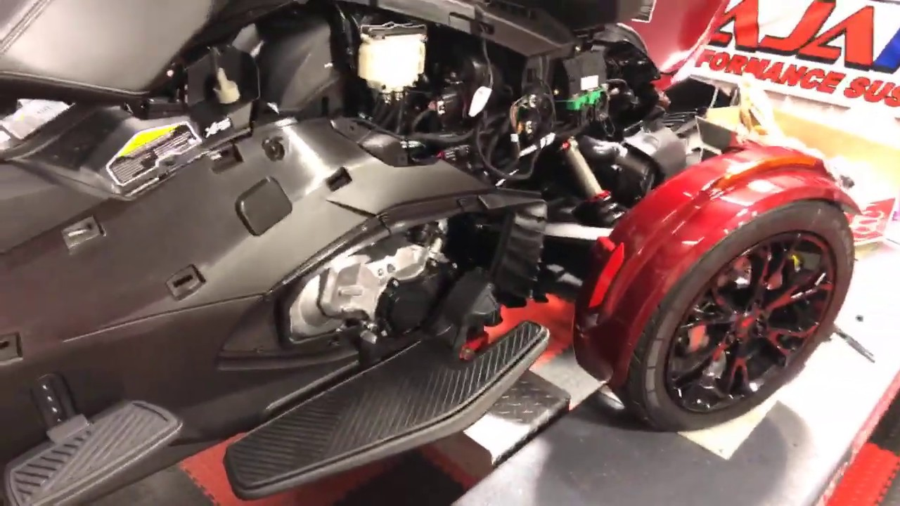Getting Naked with a 2020 Can Am Spyder RT - YouTube