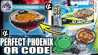 PERFECT PHOENIX P4 QR CODE BEYBLADE BURST TURBO APP + COLLAB