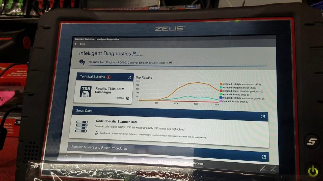 Brand new snap Zeus diagnostic scanner