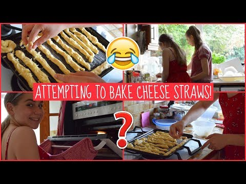 Attempting To Bake Cheese Straws (Badly) | EvieEllen