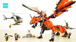 レゴ ニンジャゴー 伝説のエレメントドラゴン メリュジーナ 70653 セット説明 8:29~/ LEGO Ninjago Firstbourne