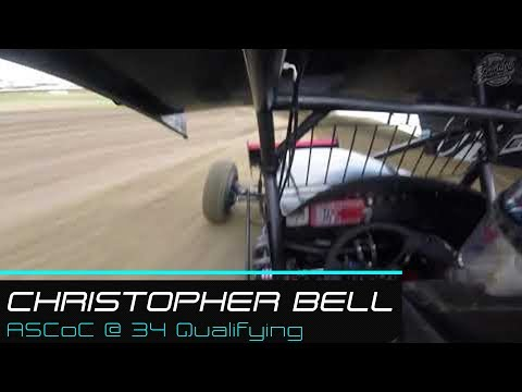 Christopher Bell |  | All Star Circuit of Champions @ 34 Raceway Qualifying | 7.28.19