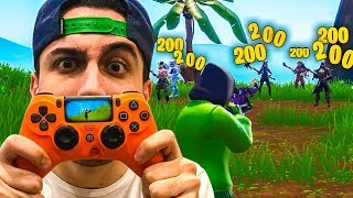 Mit Questo CONTROLLER my sento a HACKER! Fortnite ITA!